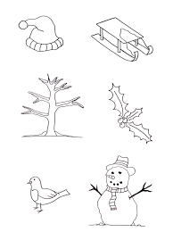 scene free winter coloring pages winter coloring pages of