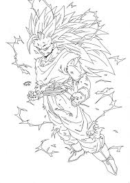 dragon ball z battle of gods coloring pages at eson me