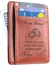 anniversary gifts for husband pocket to husband gift from to husband best