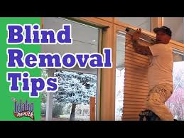 Levolor Blind Clips How To Remove Levolor Style Blinds Blind Removal Hacks Youtube