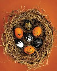 Decorating Easter Eggs Martha Stewart by Bewitching Halloween Eggs Martha Stewart