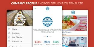 application cuisine company profile android app template by pskkar codecanyon