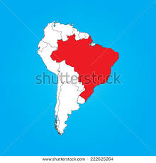 a map of south america south america map stock vector 341593289