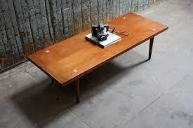 Modern Walnut Coffee Table Mid Century Modern American Of Martinsville Solid Walnut Coffee