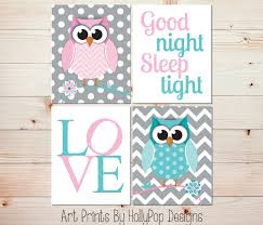 Owl Decor Owl Wall Decor For Nursery Color The Walls Of Your House