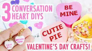Bethany Mota Valentine S Day Decor by 3 Cute Conversation Hearts Valentine U0027s Day Crafts Hgtv Handmade