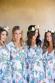 and bridesmaid robes totally unique getting ready attire that you and your bridesmaids