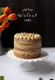 best 25 coffee and walnut cake ideas on pinterest coffee and