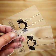 Transparent Business Cards India Business Cards Online Digital Visiting Cards Online India