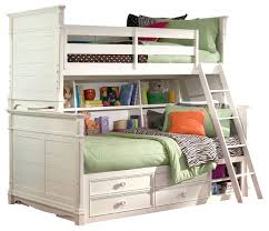 White Bunk Bed With Trundle Bookcase Bookcase Bunk Beds Acme Coyle Twin Over Full Bunk Bed