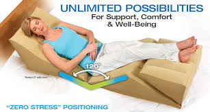 Wedge Pillows For Bed Inflatable Backmax Zero Gravity Wedge System