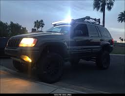 jeep wj roof lights 50 roof mounted led light bar page 3 jeepforum com