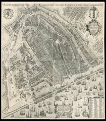 Map Of Amsterdam One Of The Most Influential Maps Of Amsterdam Maps Daniel