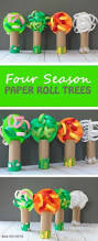 Making Flowers Out Of Tissue Paper For Kids - toilet paper roll tree craft ideas for kids jungle tree tree