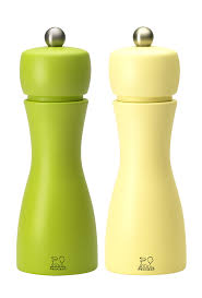 tahiti autumn duo pepper u0026 salt mills orange 15 cm peugeot saveurs