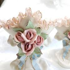 Porcelain Flower Vases Shop Lace Vase On Wanelo