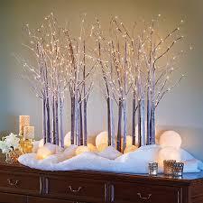Lighted Branch Tree Led Lighted Birch Branch Tree Christmas Decor Improvements Catalog