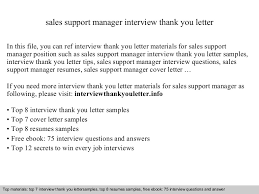 Sales Support Resume Samples by Sales Support Manager
