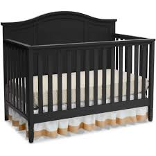 Convertible Crib Full Size Bed by Delta Children Madrid 4 In 1 Convertible Crib Gray Walmart Com
