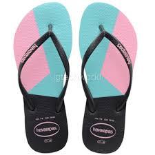 pink flat color new women havaianas slim color block sandals flip flop shoes flat