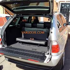 bmw van bmw x5 7 seat conversion 1999 u003e 2006 inc fitting u2013 van solve