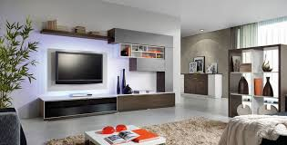 Cabinet Design Ideas Living Room Unique Wall Shelves Create A Tidy Niche For The Television