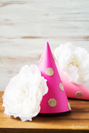 diy party hats step by step tutorial consumer crafts