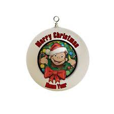 curious george ornaments ebay