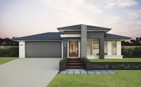 Home Design For Single Story Single Storey Home Designs For Traditional Lots