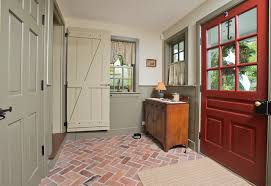 mudroom floor ideas brick tile flooring ideas to present a classic appearance in home