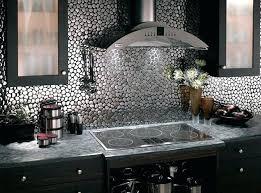 metal kitchen backsplash tiles breathtaking metal kitchen backsplash metal at perfect es