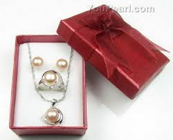 pearl necklace boxes images Jewelry set boxes cardboard boxes on sale 12 pcs pearl jewelry jpg