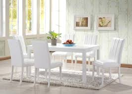 dining room sets white modern white dining room chairs jcemeralds co