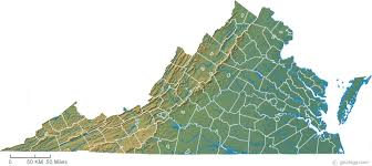 virginia map map of virginia