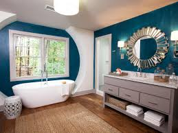 fresh bathroom colors try hgtv decorating jewel tones