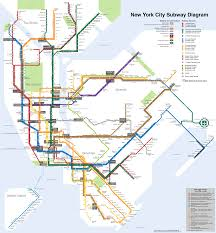 Nyc Subway Map Pdf by File Nyc Subway 4b Shrunk 2 Svg Wikimedia Commons