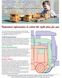 Build Big Wood Toy Trucks by Free Toy Plans