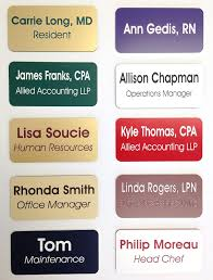 Student Desk Plates by Amazon Com Custom Name Badges Name Tags 1 5