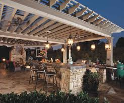 outside kitchen ideas 50 most blue chip gorgeous outdoor kitchen lighting fixtures on