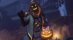 overwatch halloween background video overwatch players really love getting halloween candy from ana