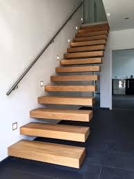 treppe ohne gelã nder chestha treppe wand design