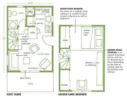 small cottage floor plans cottage floor plans with loft plain ideas lakefront cottage design