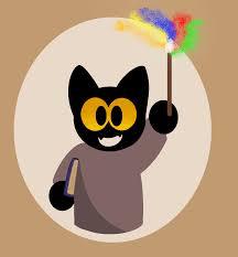 halloween cat png google doodle momo by minhvankaty24 on deviantart