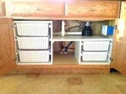 bathroom sink organizer ideas under bathroom sink storage ideas home and sink