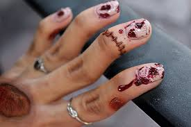 cute and creepy halloween nail art ideas nail design ideaz