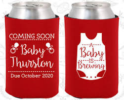 shower koozie baby shower koozies koozie supplies 90039 a baby is brewing