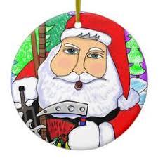 christmas martial arts elves ornament art martial and elves