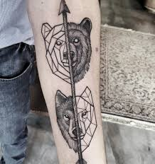 forearm wolf tattoos bear and wolf forever art pinterest wolf bears and tattoo