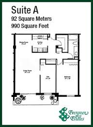 in suite plans floor plans evergreen estates calgary downtown apartments and