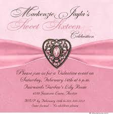 brooch sixteenth birthday card heart shaped pink sweet 16